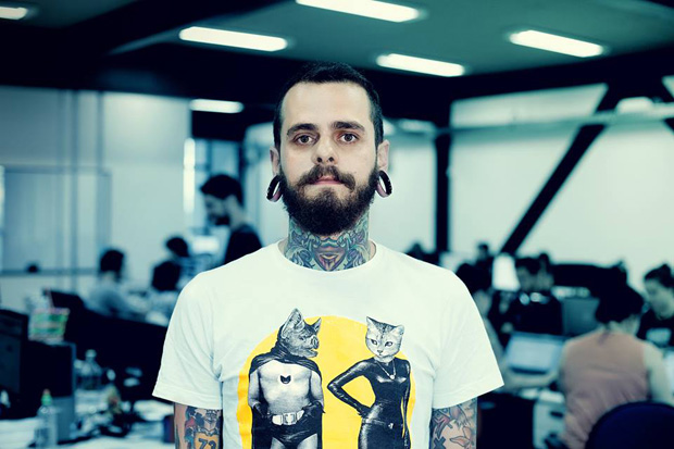 follow the colours ink starter 02 #tattoofriday   InkStarter.cc: você desenha, Guilherme tatua