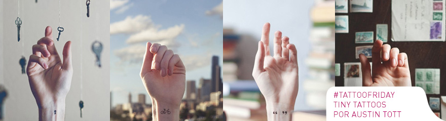#tattoofriday – Tiny Tattoos por Austin Tott