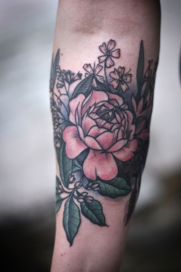 follow the colours alice carrier 02 #tattoofriday   Alice Carrier