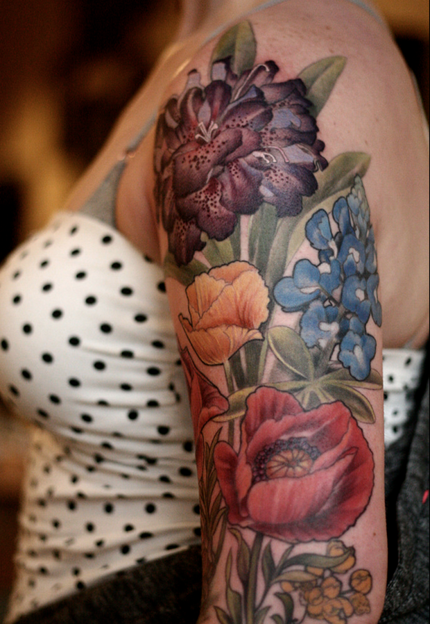 follow the colours alice carrier 25 #tattoofriday   Alice Carrier