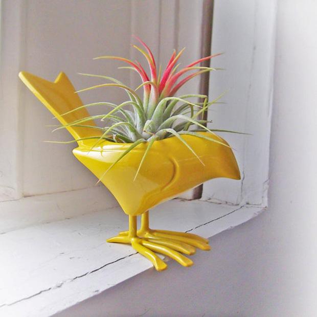 follow the colours different vases 12 Inspire se: um pouco de verde além dos vasos comuns