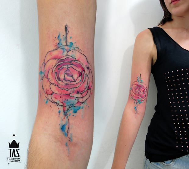 follow the colours tattoo friday rodrigo tas 13 #tattoofriday   Rodrigo Tas