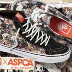 Compre um tênis Vans e ajude os animais da ASPCA