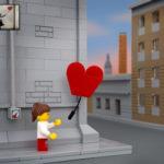 Diversas obras de Banksy são recriadas com Lego