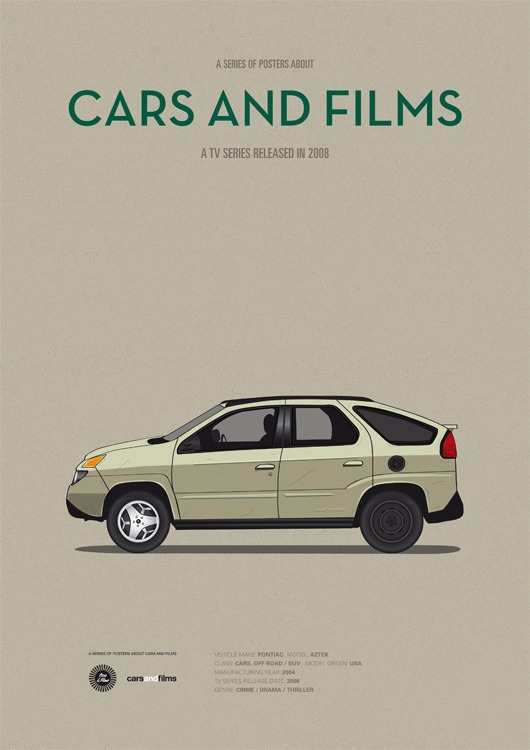 cars and films - breaking bad
