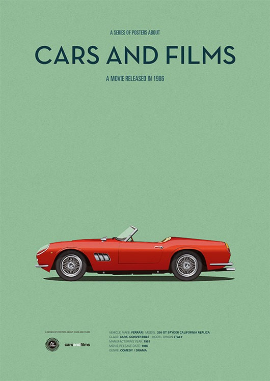 cars and films - curtindo a vida adoidado