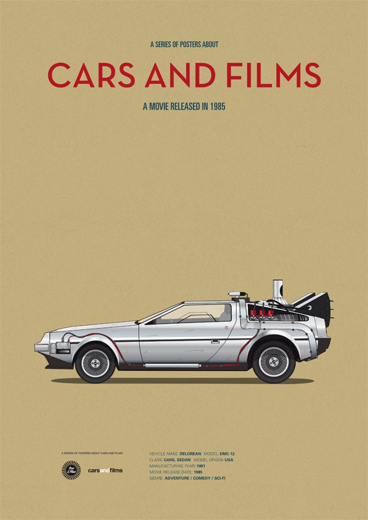 cars and films - de volta para o futuro