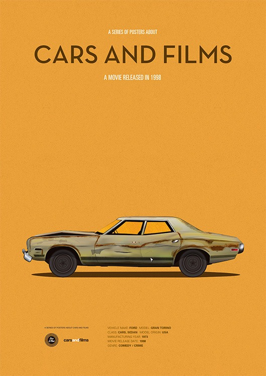 cars and films - o grande lebowski