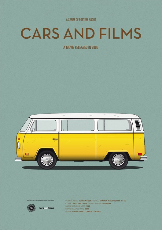 cars and films - pequena miss sunshine
