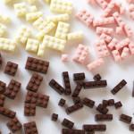 A desculpa perfeita para brincar com a comida: Chocolate de Lego