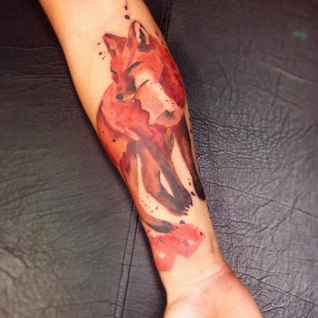 As Incríveis tatuagens grunge art de Cássio Magne Schneider