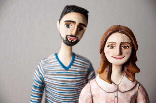 Resultado de imagem para papel mache boneco