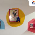 Aprenda a fazer nichos de Cor na parede para animar a casa!