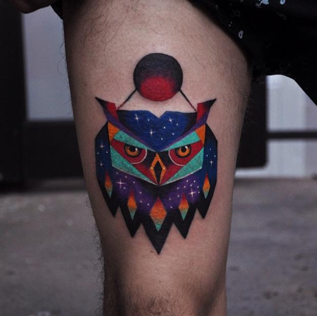 follow the colours tattoo friday David Cote 01