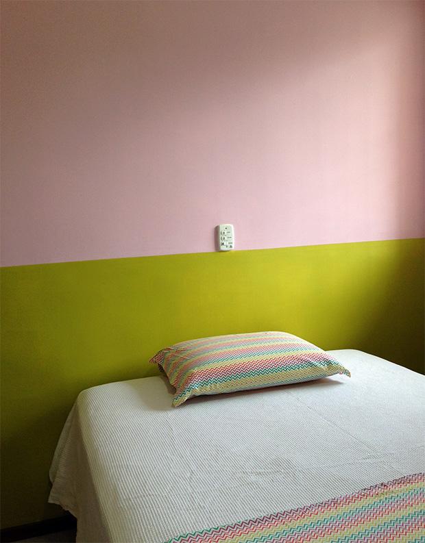 """Aprenda a fazer""""Half Painted Walls"""" paredes pintadas pela metade Follow the Colours"""