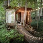 Que tal se hospedar numa casa na árvore de tirar o fôlego?