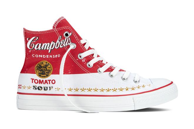 Converse lança coleção em parceria com a Fundação Andy Warhol
