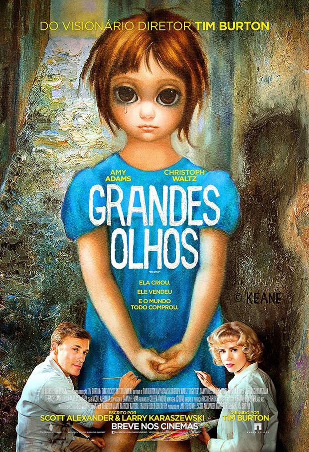 Grandes Olhos: filme de Tim Burton mostra a vida da talentosa artista Margaret Keane