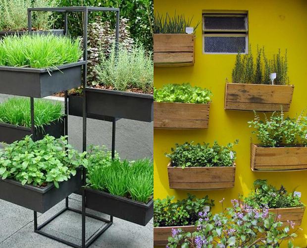 Famosos 5 ideias de como fazer uma mini horta para a sua casa - Follow the  KU16