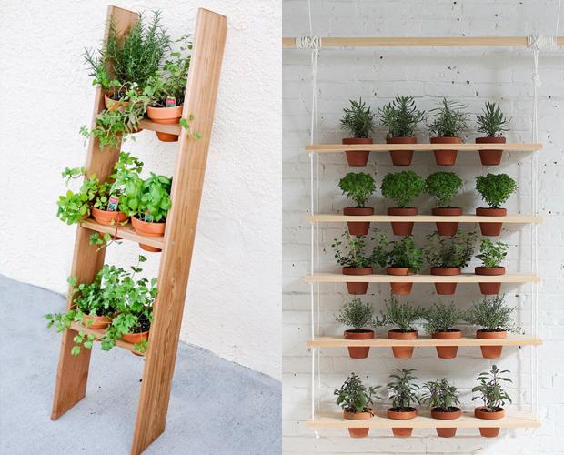 5 ideias de como fazer uma mini horta para a sua casa follow the colours. Black Bedroom Furniture Sets. Home Design Ideas