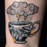 Ricardo Braga: tattoos cheias de estilo baseadas no tradicional e no pontilhismo