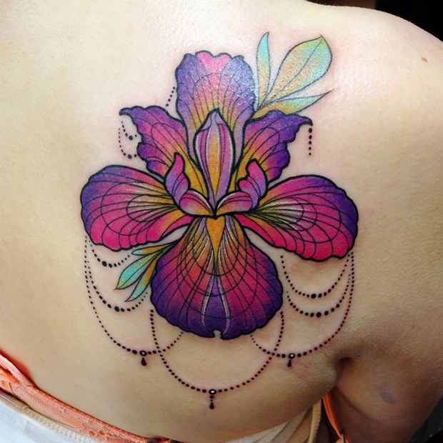 Katie Shocrylas e suas coloridíssimas tattoos