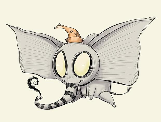 """Clássico da Disney """"Dumbo"""" ganhará versão dirigida por Tim Burton"""
