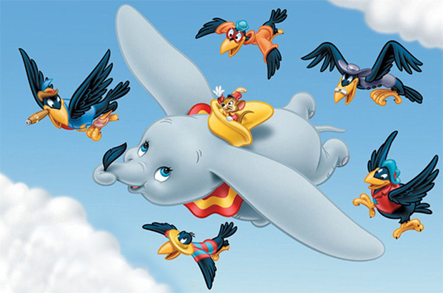 follow the colours Dumbo