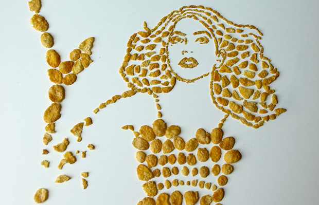 follow the colours Sarah Rosado cereal Lady Gaga