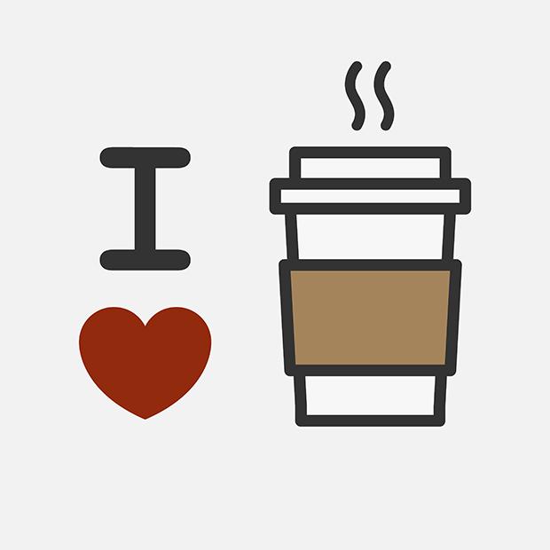 follow the colours eu amo café