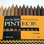 Koralle lança Pintkor, giz de cera com 12 cores de tons de pele