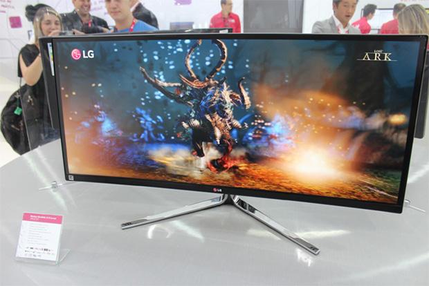 Monitor 34 polegadas LG curvo
