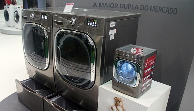 Smart Care LG lavadora secadora WWF Brasil