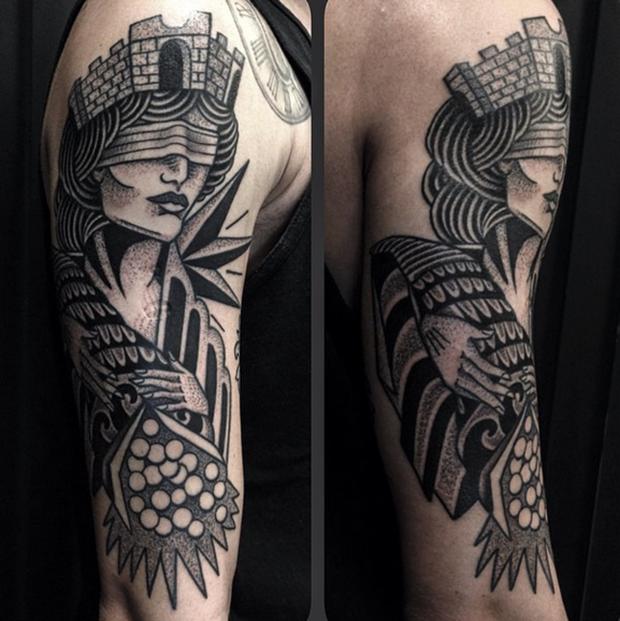 Tattoo Junnio Nunes Mulher