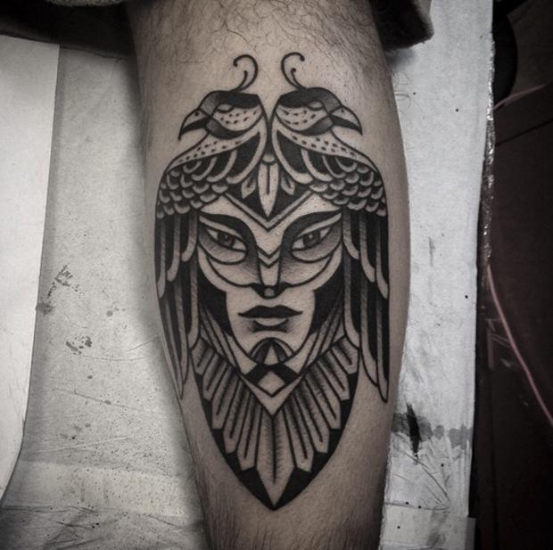 Tattoo Junnio Nunes egito