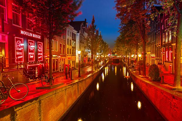 Vermelho Amsterdam cores shutterstock_126240941