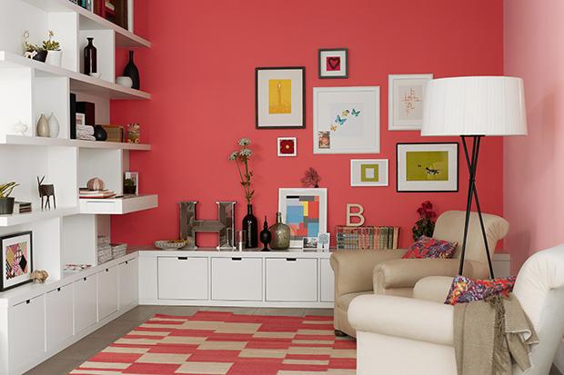 Vermelho como usar e combinar a cor na decora o follow for Simulador decoracion
