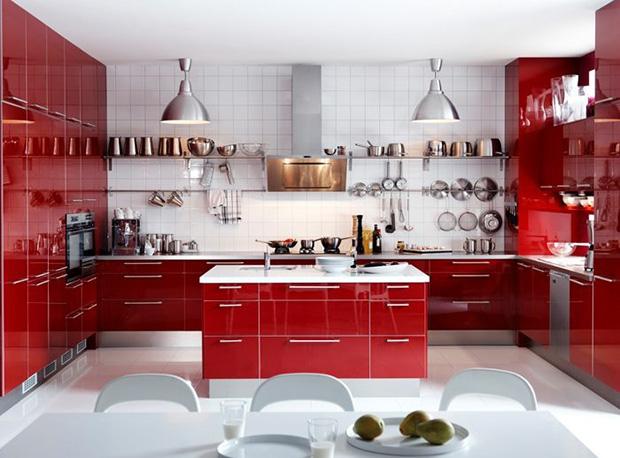 Fabuloso Vermelho: Como usar e combinar a cor na decoração - Follow the Colours QP83