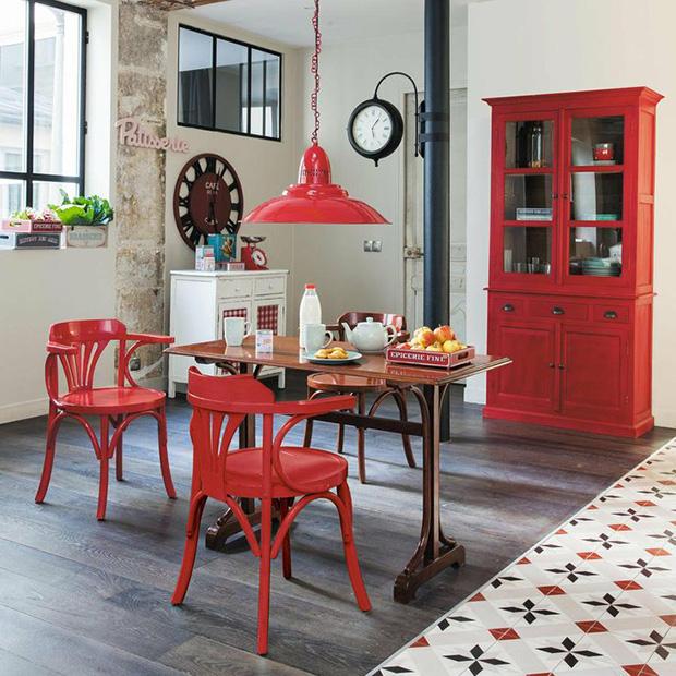 Vermelho como usar e combinar a cor na decora o follow for Deco cuisine maison du monde
