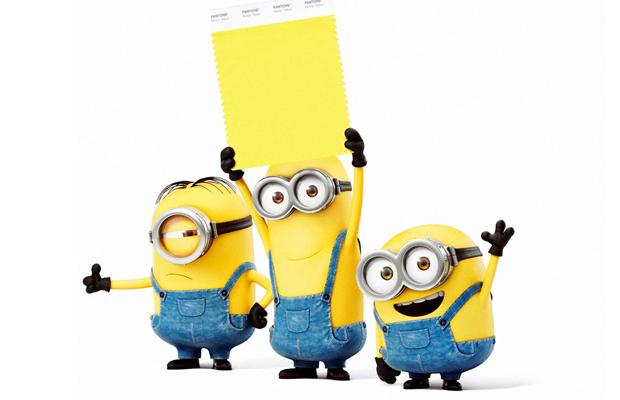 Minion Yellow Pantone Universal