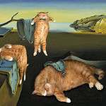 Fat Cat Art: gato invade obras de arte famosas e clássicas