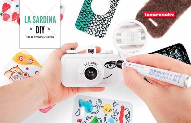 câmera analógica Lomography La Sardina DIY