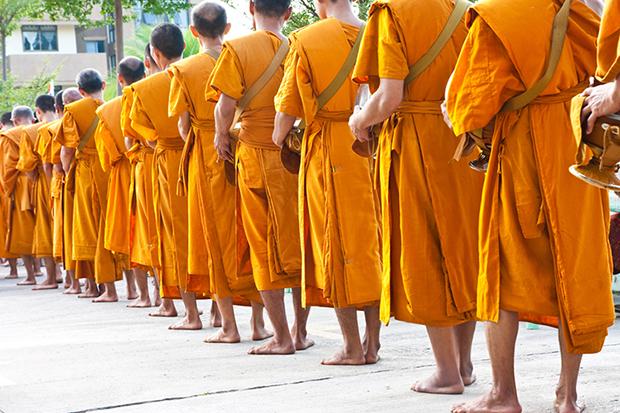 Shutterstock significado laranja monges