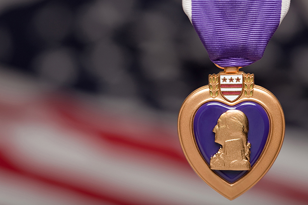 Shutterstock significado roxo medalha