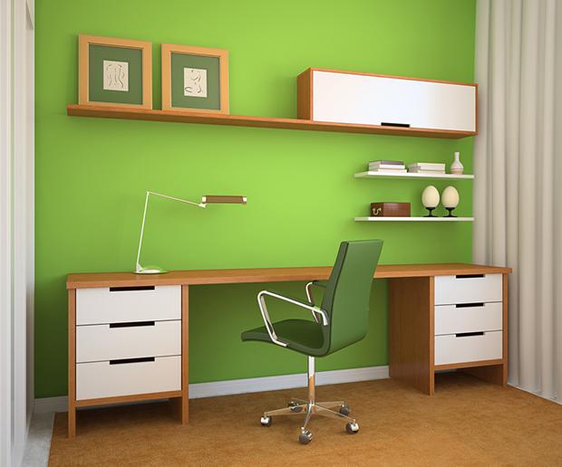 Verde 50 curiosidades interessant ssimas que voc n o for De que color pintar una oficina segun el feng shui