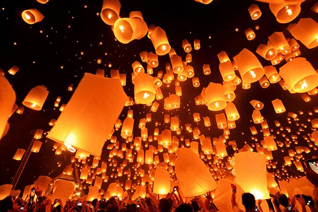 Shutterstock significado laranja balões