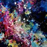"""""""Eu pinto músicas""""! Artista com sinestesia transforma sons em splashes de cor"""
