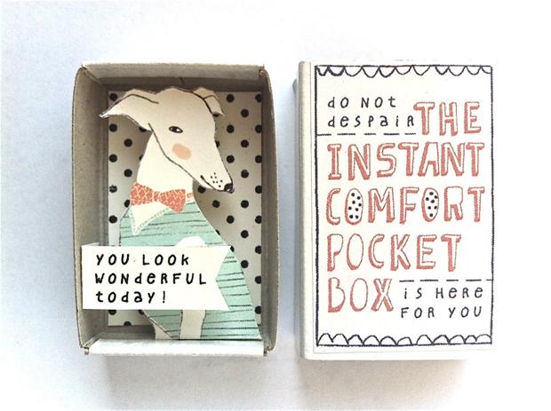 Caixinhas ilustradas trazem frases motivacionais instantâneas