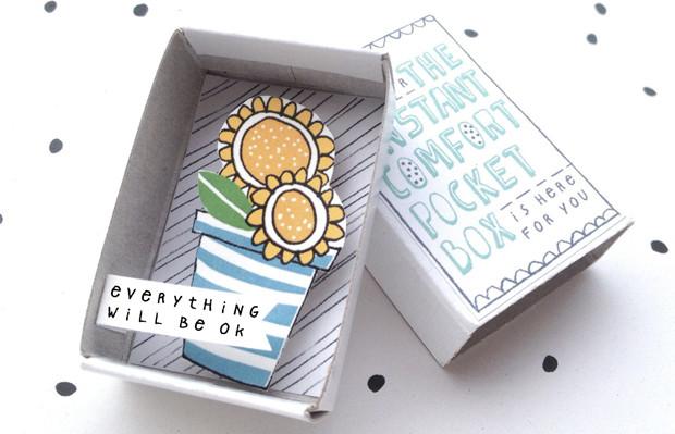 caixinhas ilustradas frases motivacionais Kim Welling