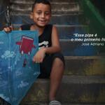 Instituto Pró-Livro utiliza pipas para incentivar leitura de crianças e jovens carentes
